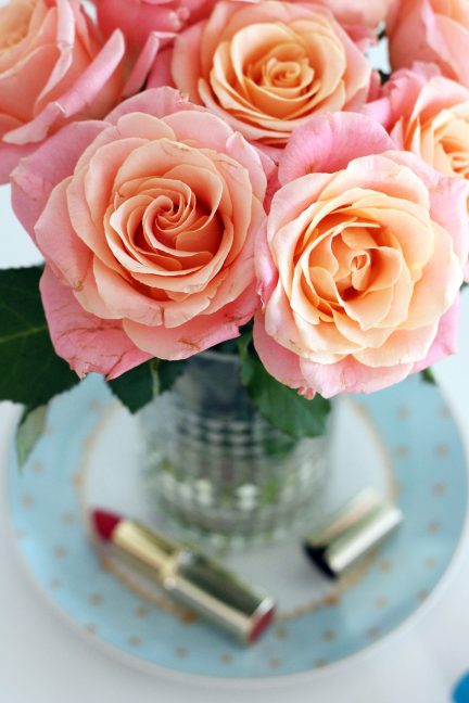 Friday Flowers And New Makeup